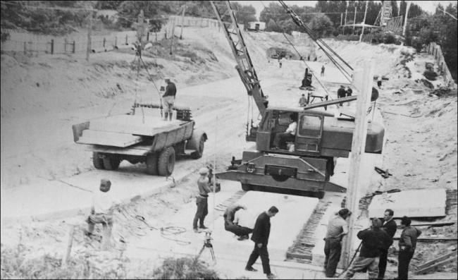Нивки, метро, Киев, 70-е годы