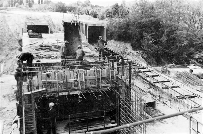 Киевский метрополитен, станция Нивки, 70-е годы