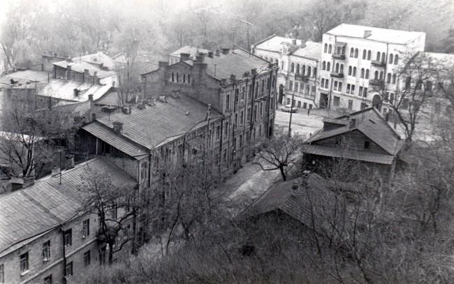 Улица Черная грязь в Киеве в 80 году