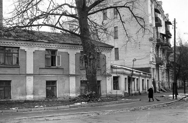 Борисоглебская улица, Киев, дома, которых уже нет