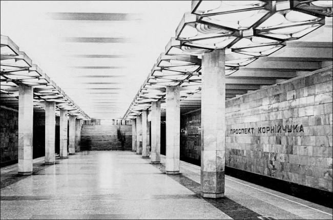 Станция метро Оболонь