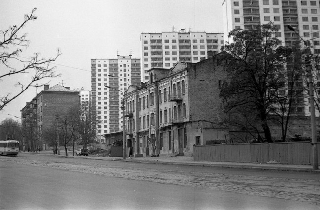 Улица Урицкого в 80-х годах