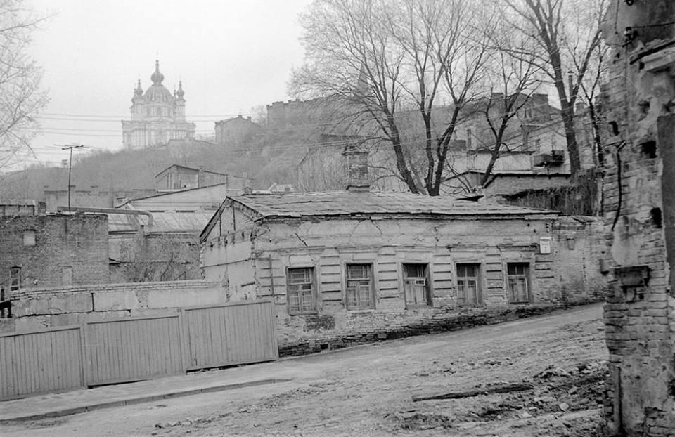 1980-е годы. Улица Фроловская (Черная грязь), дом №7