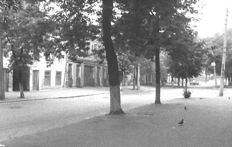 Улица Фроловская, рядом с Андреевским спуском, Киев