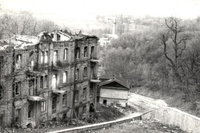 Петровская улица в 1986 году