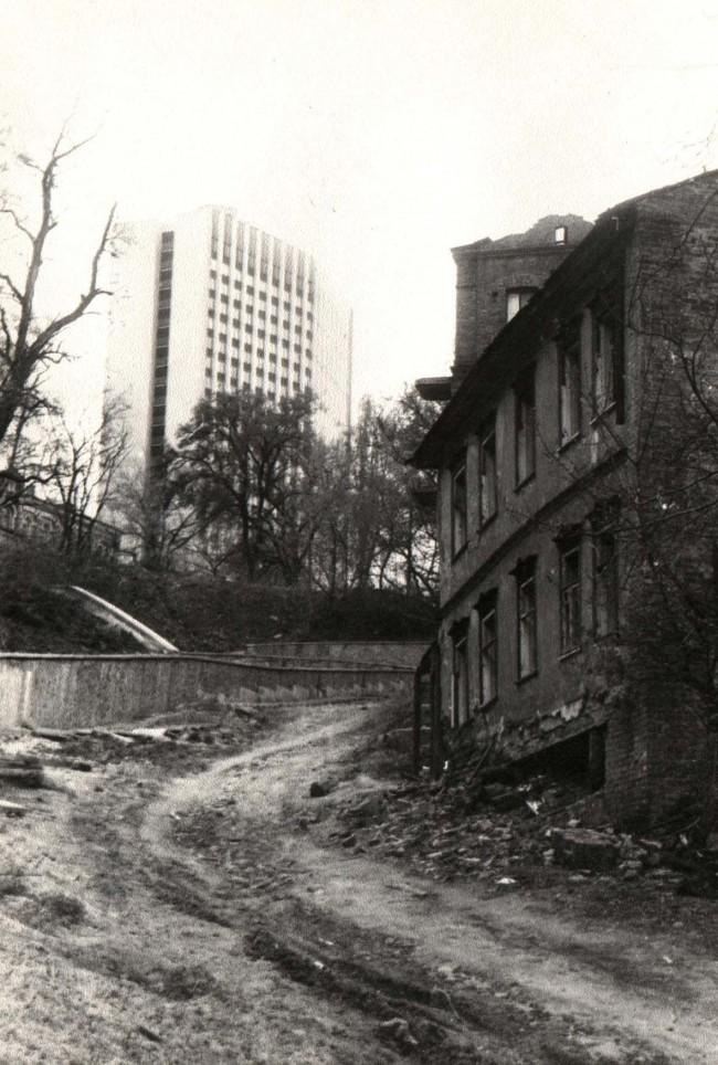 Петровская улица в 1987 году