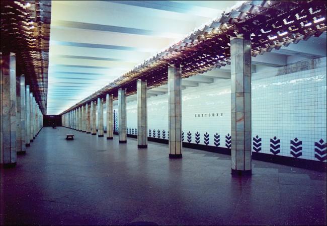 Станция метро Святошино