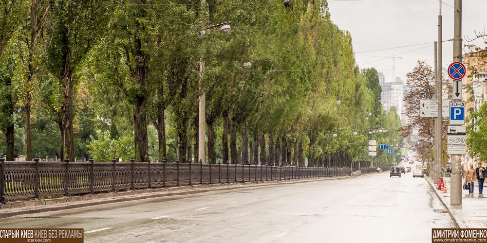 бульвар Шевченко без наружной рекламы