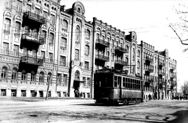 Улица Январского восстания в 38 году