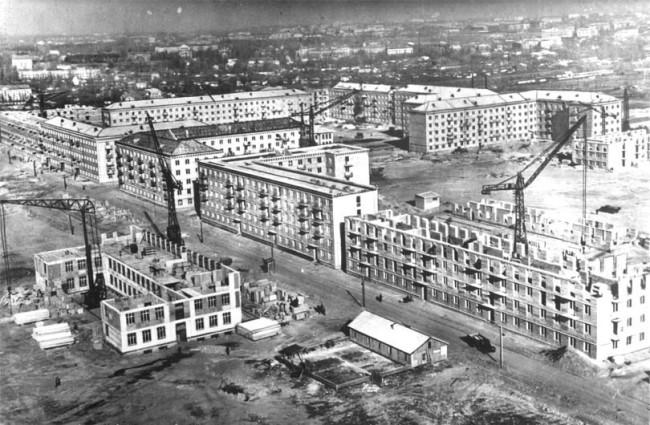 Чоколовка в 1958 году