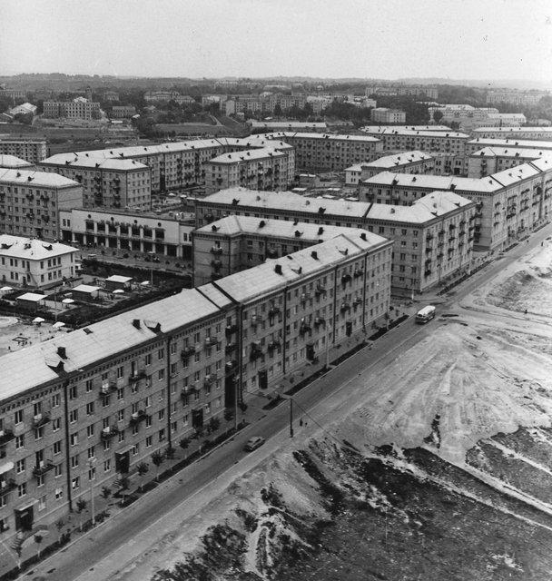 Чоколовский массив в 1960 году
