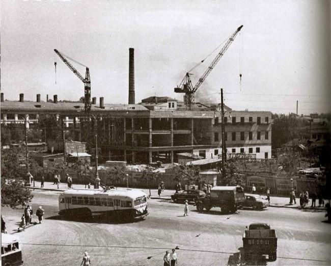 Как строили центральный автовокзал в Киеве, 60 год