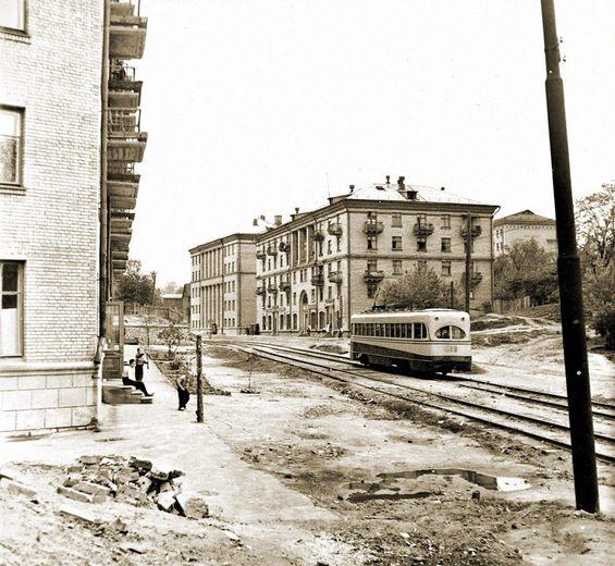 Белорусская улица, Киев, в 1960 году