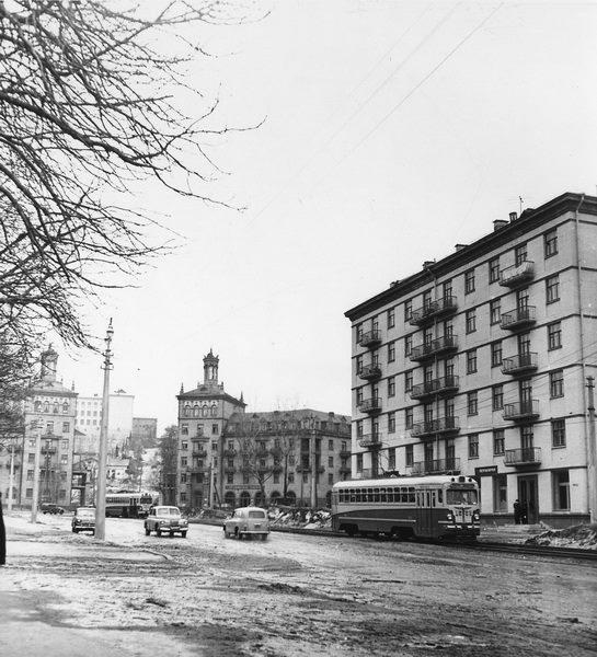 Улица Мечникова в 60 году, Киев