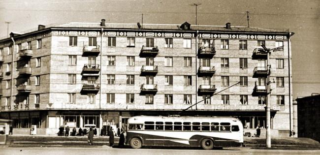 Чоколовский бульвар в 1960 году