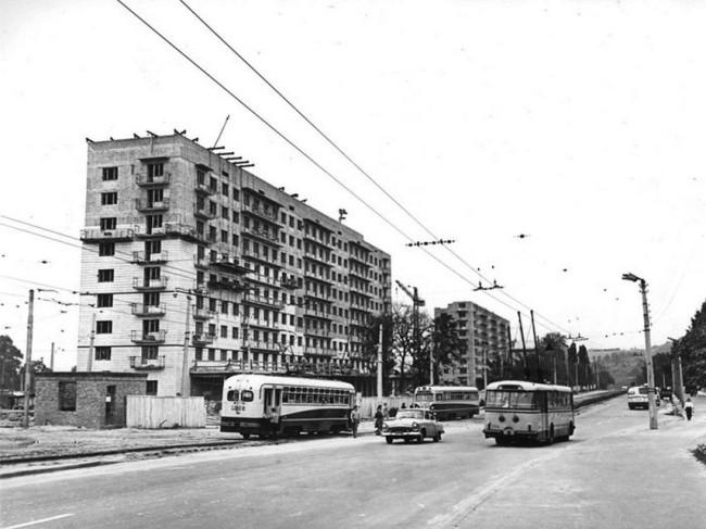 Улица Фрунзе в 1963 году