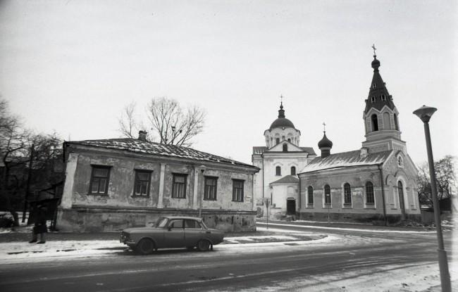 Ильинская улица в 70-х