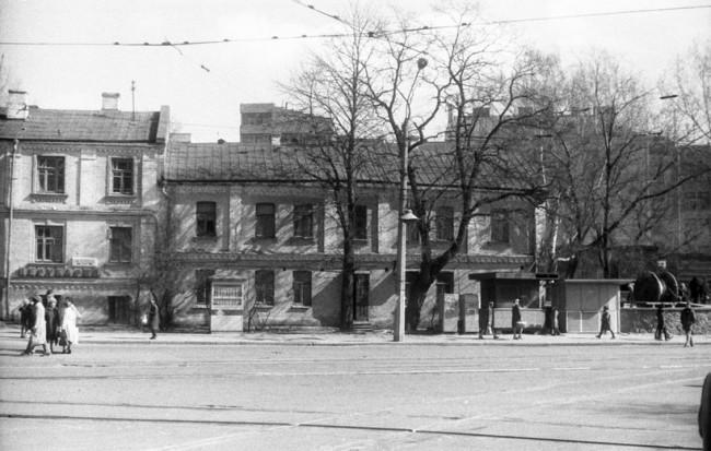Белорусская улица в Киеве в 1970-х годах