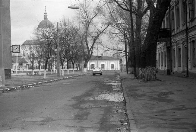 Ильинская улица в 70-х, Подол, Киев