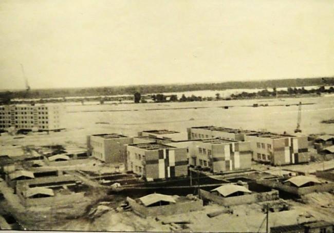 Проспект Героев Сталинграда в 70-х годах
