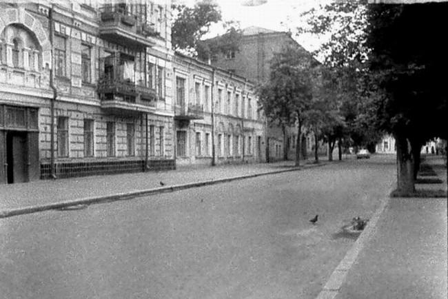 Улица Игоревская в 80-х годах