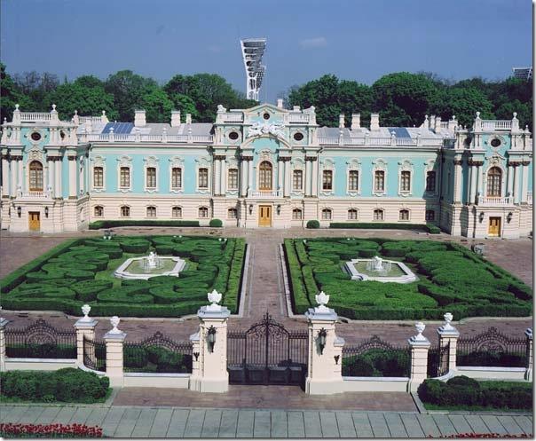 1980-е годы. Мариинский дворец и территория