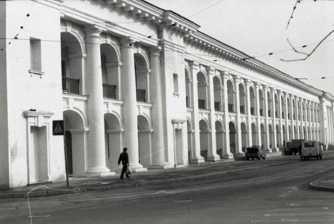 Реставрированный Гостиный двор в Киеве в 80-х годах