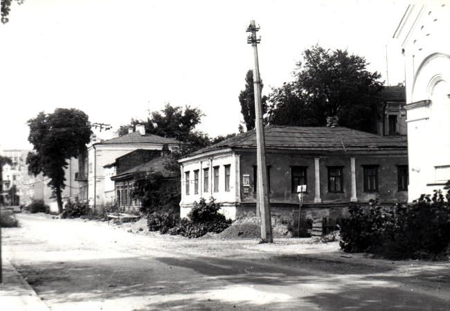 Почайнинская улица в Киеве в 86 году