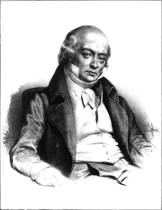 Портрет Пьер Жан де Беранже́