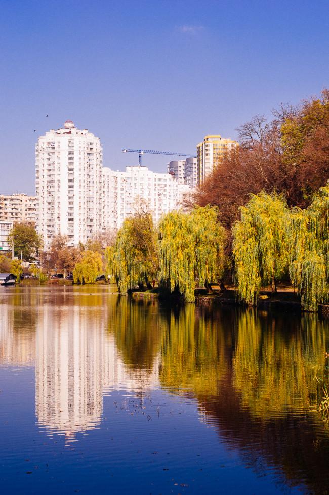 Осенние фотографии Голосеевского парка
