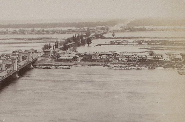 1900-е годы. Николаевский мост, Днепр