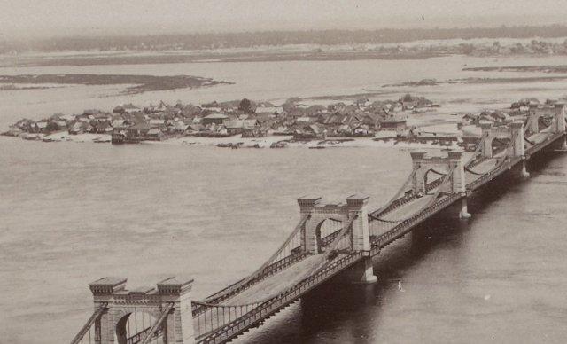 1900-е годы. Николаевский мост на Днепре