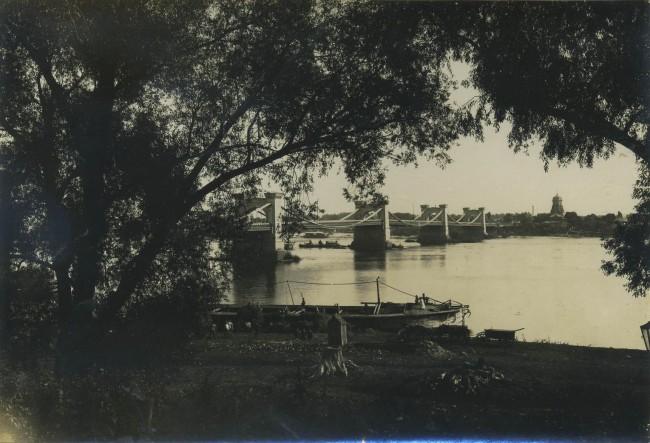 1900-е годы. Николаевский мост с другого ракурса
