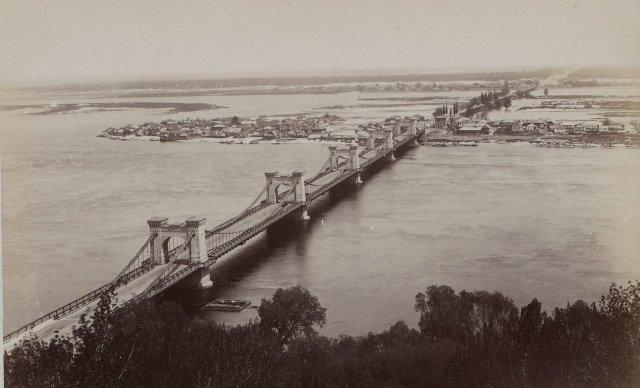 1900-е годы. Николаевский мост, начало века