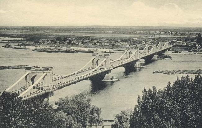 1900-е годы. Николаевский цепной мост