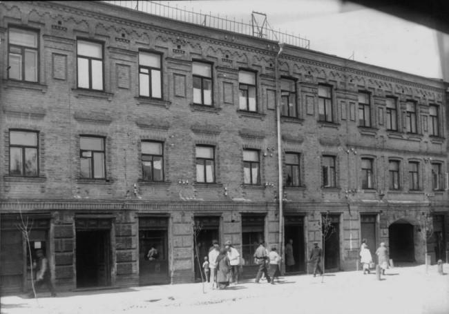 Нижний Вал, Подол, Киев, в 30-х годах