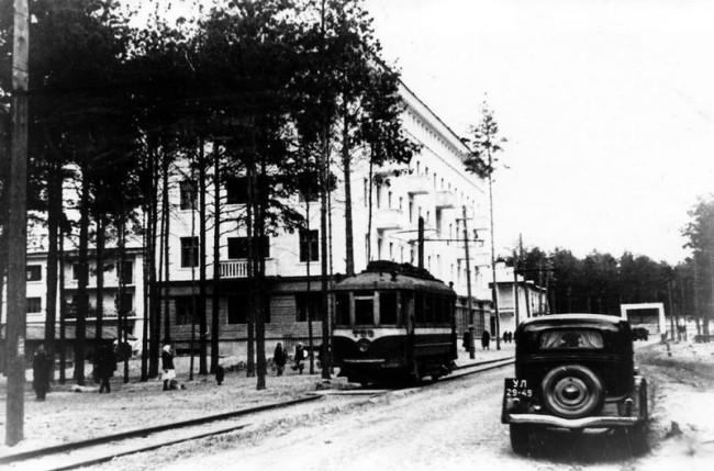 Дарница, вагоноремонтный завод в 38 году