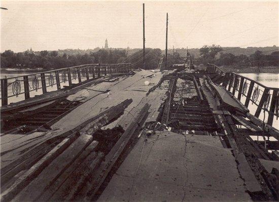 Русановский мост Киев 40-е годы