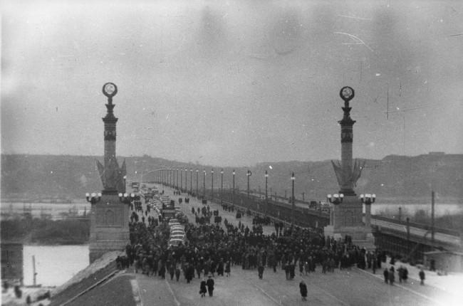 Как открыли мост Патона в Киеве