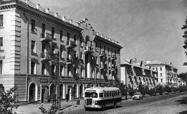 Поселок дарницкого вагоноремонтного завода в 53 году