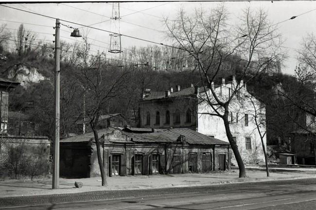 Глубочицкая улица в 70-х годах в Киеве