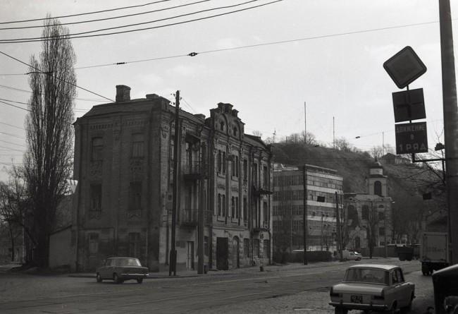 Улица Глубочицкая в 70-х