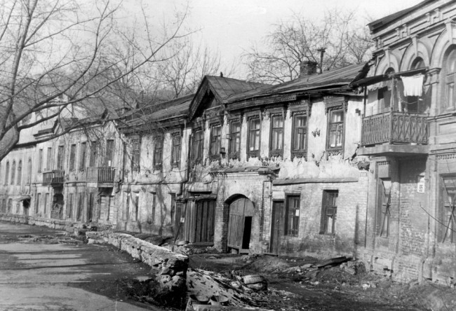 Глубочицкая улица в 70-х годах