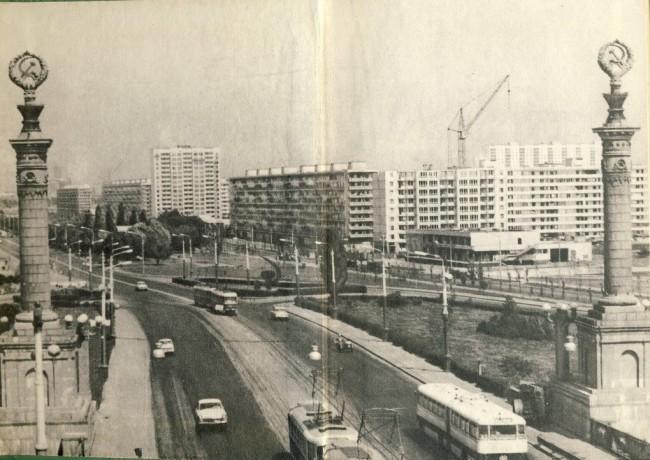 Мост Патона в 75 году
