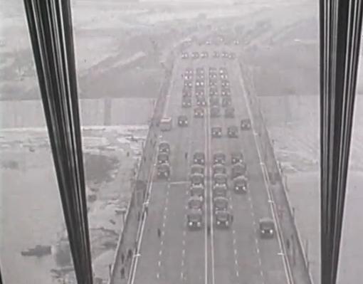 Как испытывали Московский мост на прочность в 1976 году