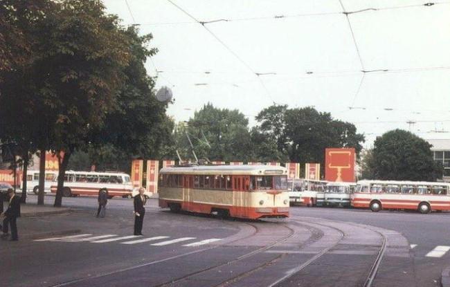 Площадь Славы в Киеве в 78 году