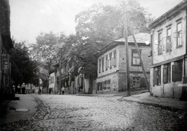 Улица Боричев Ток на Подоле в 80-х годах