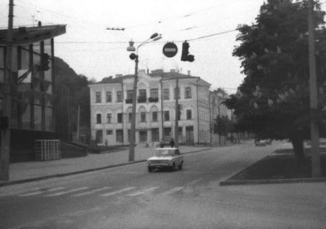 Дом 14 на Верхнем Валу на Подоле в Киеве в 80-х годах