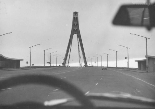 Московский мост в 80-х