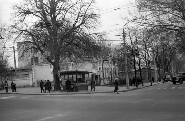 Багговутовская улица в 80-х годах